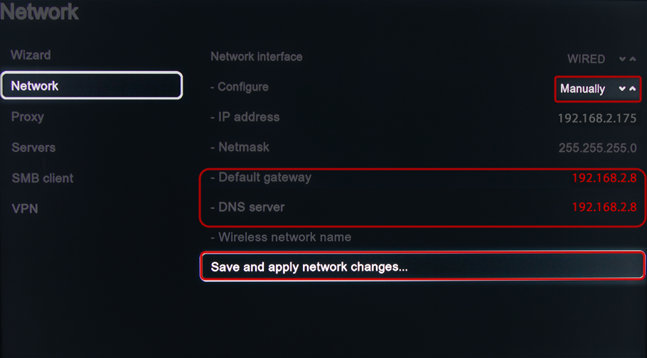 Astrill Setup Manual:Change Gateway and DNS on Boxee Box - Astrill ...